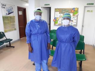 Escuela de Robótica del Chocó, contribuye con protectores de bioseguridad para el personal médico