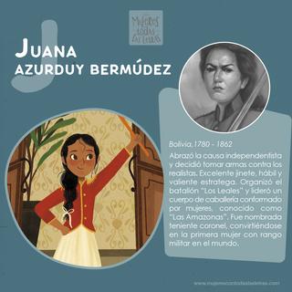 Juana Azurduy Bermúdez