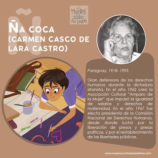 Ña Coca (Carmén casco de Lara Castro)