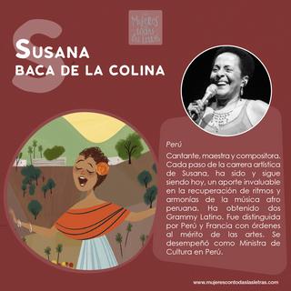Susana Baca de la Colina