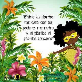 Para las comunidades afro el conocimiento ancestral alrededor de la capacidad curativa de las plantas es fundamental para atender las diferentes enfermedades que el ser humano padece.   ¿Qué tal si nos volvemos a conectar con la naturaleza, nos permitimos entender nuestros dolores y sanarnos naturalmente?