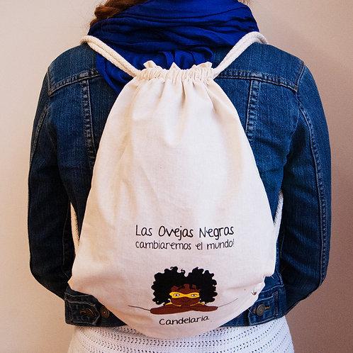 Kit (Mochila + stickers + Libro Mujeres con todas las letra-z)