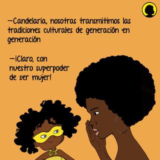 La mujer afro juega un papel fundamental en los procesos de transmisión de cultura a las nuevas generaciones, además de construir liderazgo femenino, identidad y fortalecimiento de los territorios.