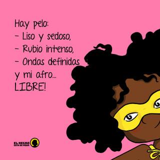 """""""Cuando llevamos el afro le estamos declarando al mundo quiénes somos, este pelo representa la raíz de nuestra cultura"""" Edna Liliana Valencia"""