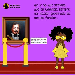 Juan José Nieto, el único presidente afro que tuvo Colombia a mediados del siglo XIX fue literalmente borrado de la historia, por circunstancias que los historiadores le atribuyen al racismo.