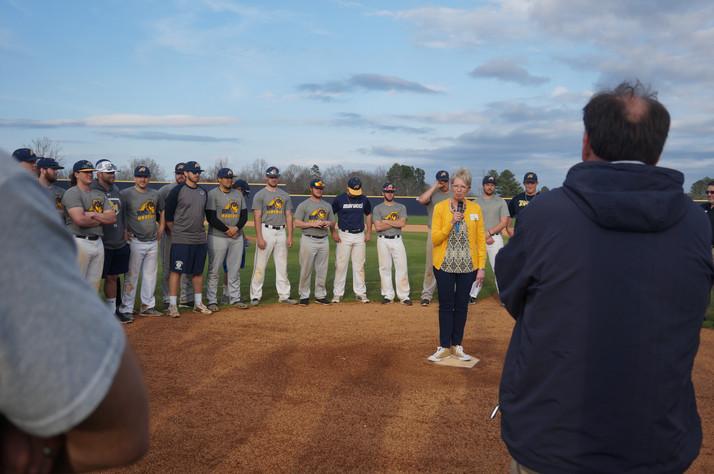 BMC Inaugurates New Baseball Field