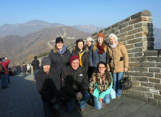Christmas in China: BMC Mission Trip