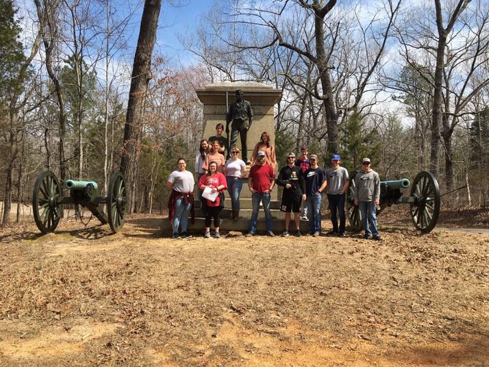 A Civil War Encounter at the Shiloh Battlefield