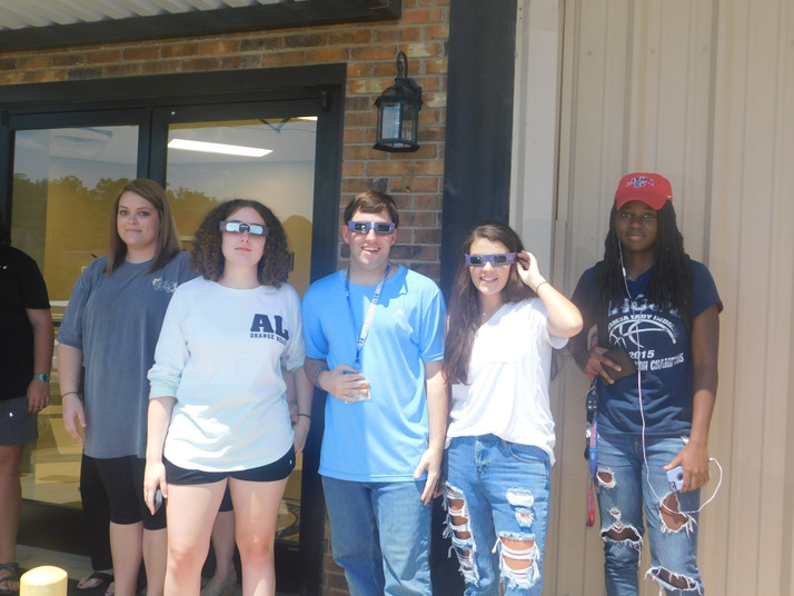 Students Stunned by Solar Eclipse