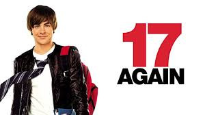 film poster for 17 again with Zac Efron