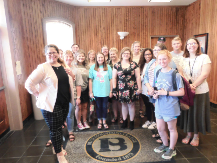 AAUW President Visits Students of BMC