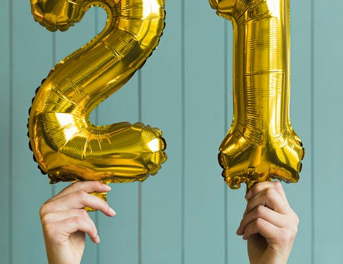 21 Things I've Learnt in 21 Years