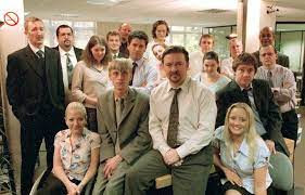 The Office UK cast