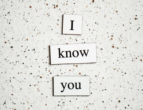 The Difference Between Knowing Someone and Knowing of them