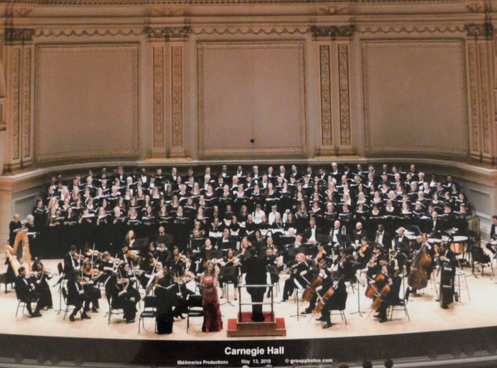 BMC Chorale Tackles the Big Apple
