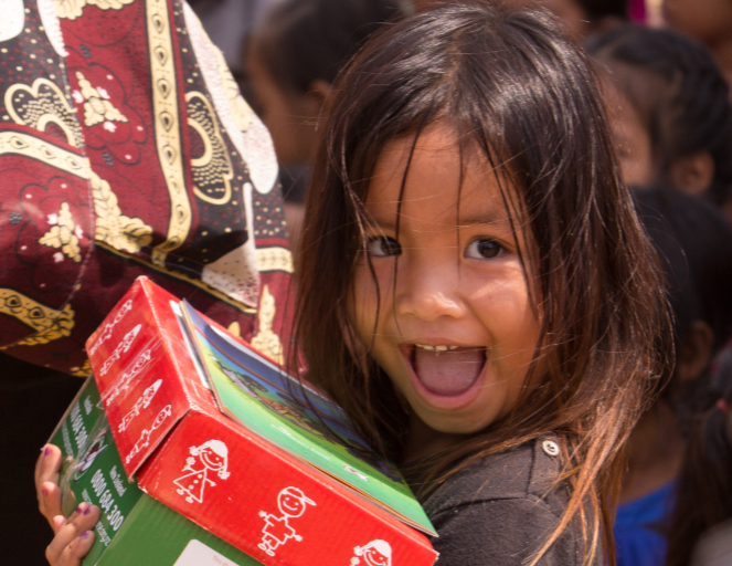 BMC Participates in Operation Christmas Child