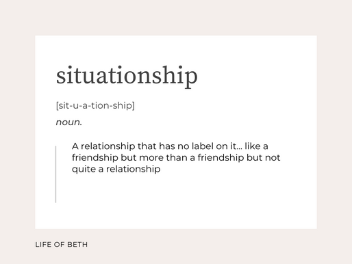 How to get over a Situationship