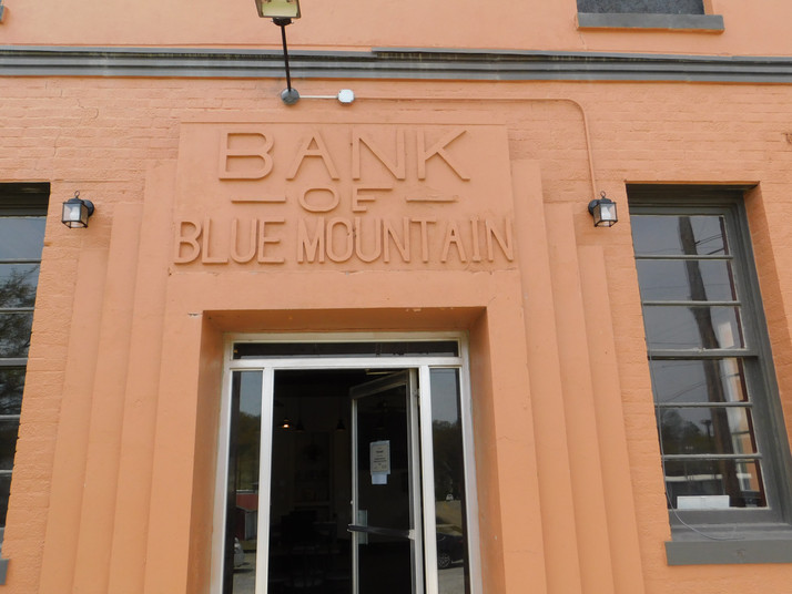 Blue Mountain Bank Becomes Coffee House