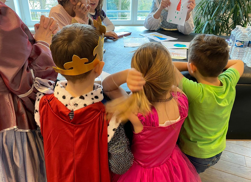 A Ball for Young Princesses and Knights (Renaissance dance workshop)