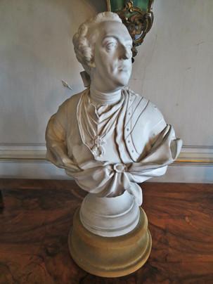 Buste de Louis XV