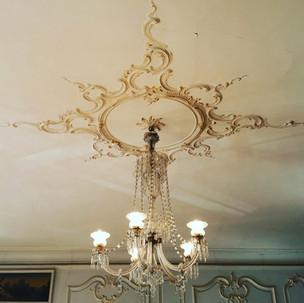 Lustre en cristal de Murano