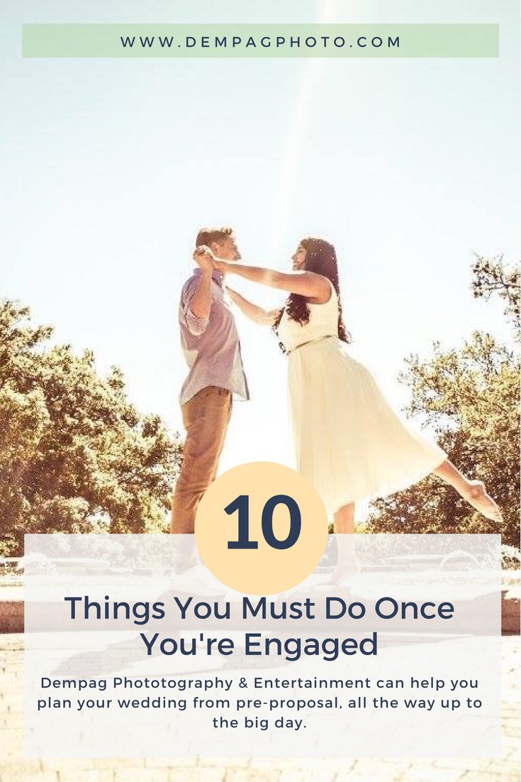 10 Thing You Must Do Once You're Engaged