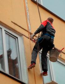 высотные работы по фасаду