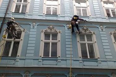 мойка фасадов зданий в омске