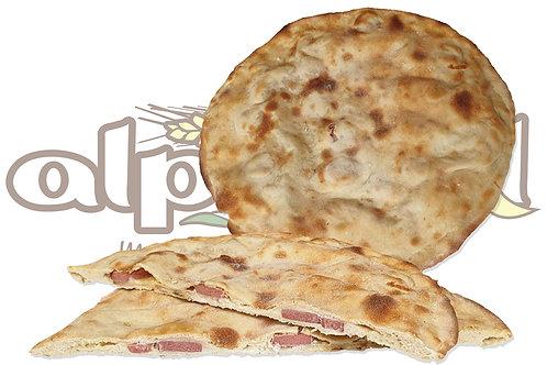 Pizza Rustichella Patate e Wurstel  28 cm 330 g 10 pz