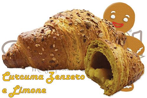 Croissant Curcuma Zenzero e Limone Prontoforno  90 g 56 pz