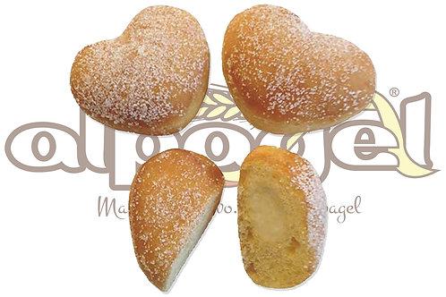 Cuoricini Mignon Latte e Panna  25 g 2,5 kg