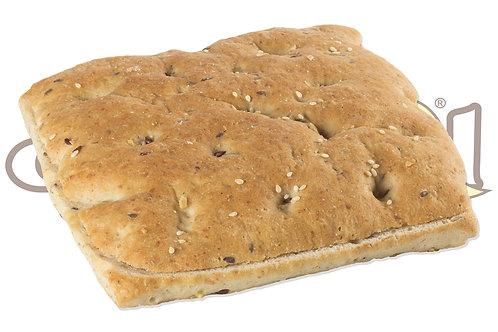 Focaccia Toast ai Cereali Pretagliata 140 g 16 pz