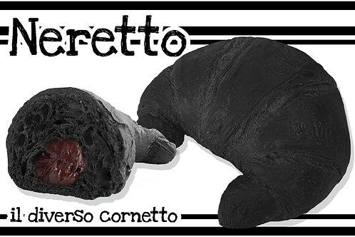 Neretto Cioccolato Nero Curvo Prontoforno Glassato