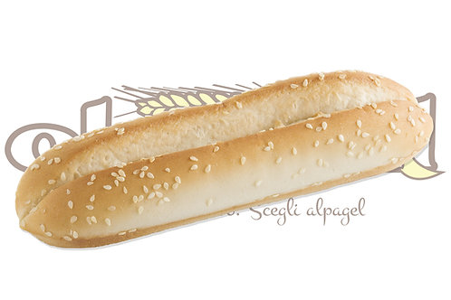 Panino Hot Dog Pretagliato  75 g 36 pz