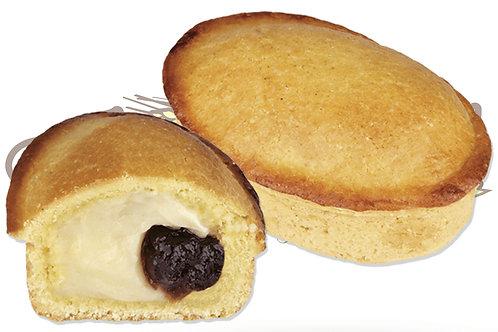 Pasticciotto Leccese Crema e Amarena  120 g 50 pz