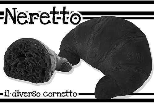 Neretto Vuoto Curvo Prontoforno Glassato