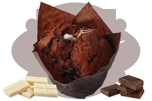Bibo' Muffin White Chocolate  100 g 20 pz
