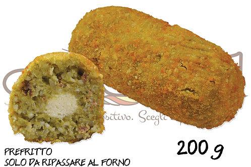 Supplì Salsiccia e Friarielli  200 g 25 pz