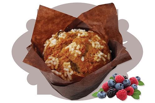 Bibo' Muffin 5 Cereali Frutti di Bosco  90 g 20 pz