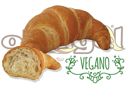 Croissant Vegano Curvo Vuoto Prontoforno  70 g 56 pz