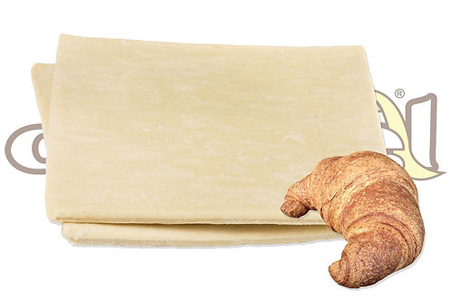 Pasta Croissant Integrale Laminata 0,5 cm 28*36 500 g 20 pz