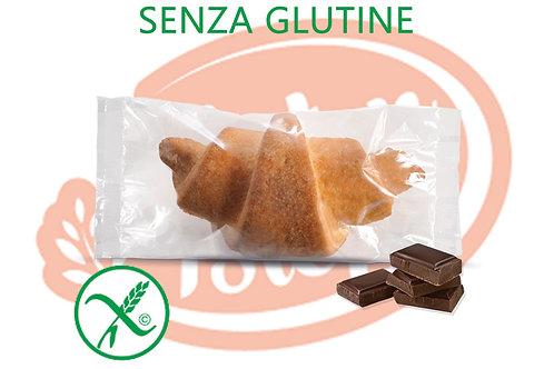 Croissant Gianduia Senza Glutine 100 g 15 pz