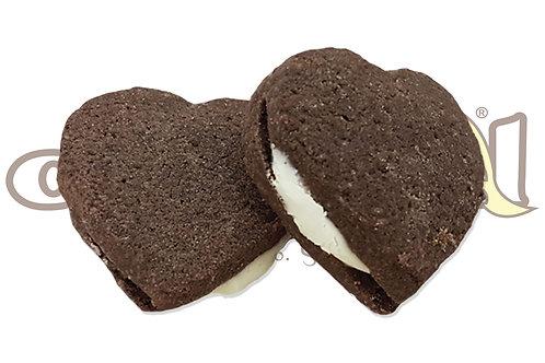 Cuori Cacao Cioccolato Bianco - 1,5 kg