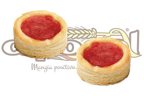 Pizzetta Sfoglia Pomodoro No Origano 25 g 5 kg