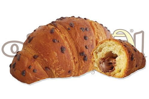 Croissant Gianduia Superfarcito Prontoforno Glassato 100g 56pz