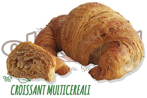 Croissant Multicereali Vuoto Vegano  Prontoforno 80 g 56 pz