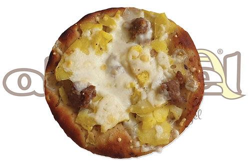 Pizza Cereali Patate, Salsiccia e Mozzarella 100 g 30 pz