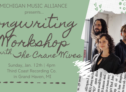 Coming Up... Songwriting Workshop!