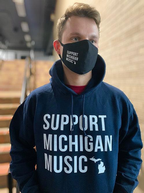 Support Michigan Music - Hoodie