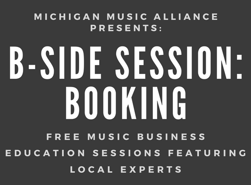 B-Side Session: Booking - 9/28/20 VIRTUAL EVENT